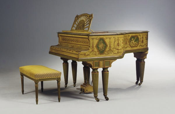 PIANO QUART DE QUEUE DU XIXème