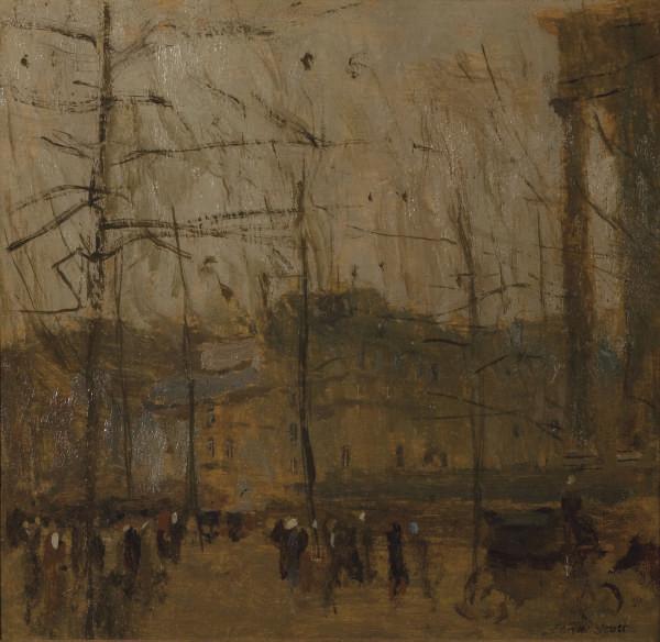 Un jour gris à Paris