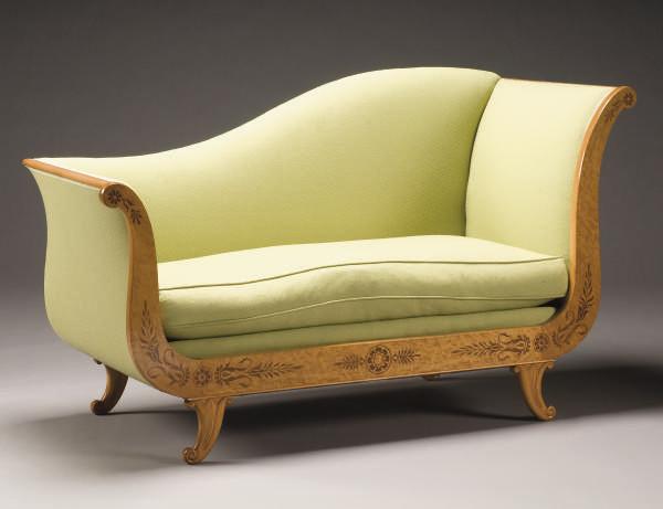 meridienne de style charles x christie 39 s. Black Bedroom Furniture Sets. Home Design Ideas
