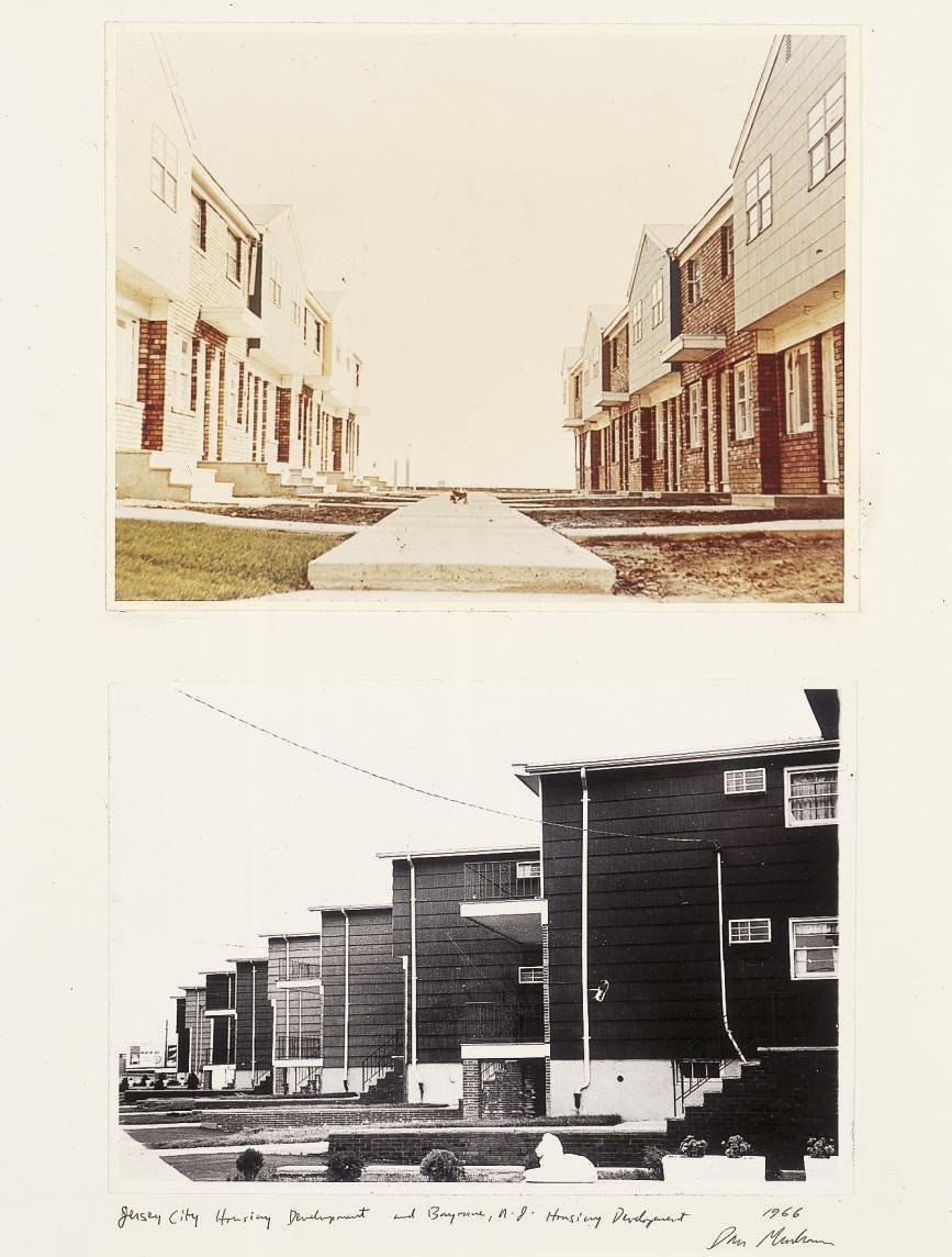 Jersey City Housing Development and Bayonne, N.G. Housing Development