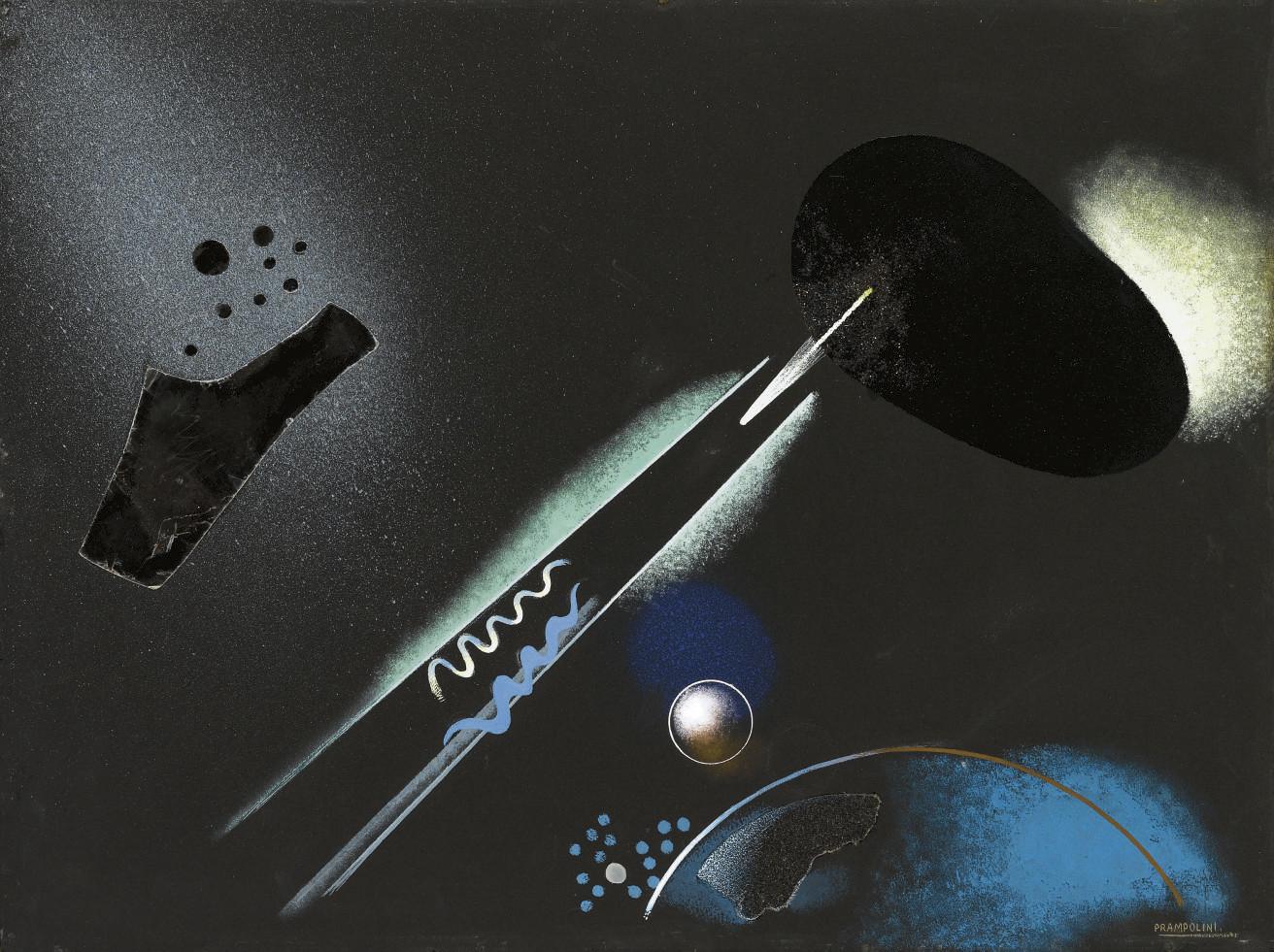 Paesaggio cosmico o Metamorfosi cosmica