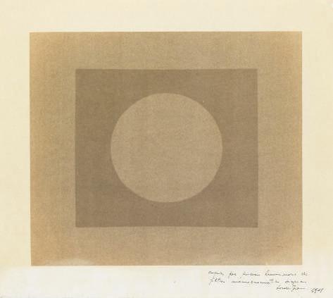 Copia per processo luminoso di filtro monocromatico bianco