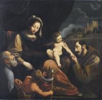 Sacra Famiglia con San Giovannino e San Francesco