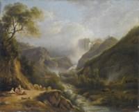 Veduta della cascata delle Marmore
