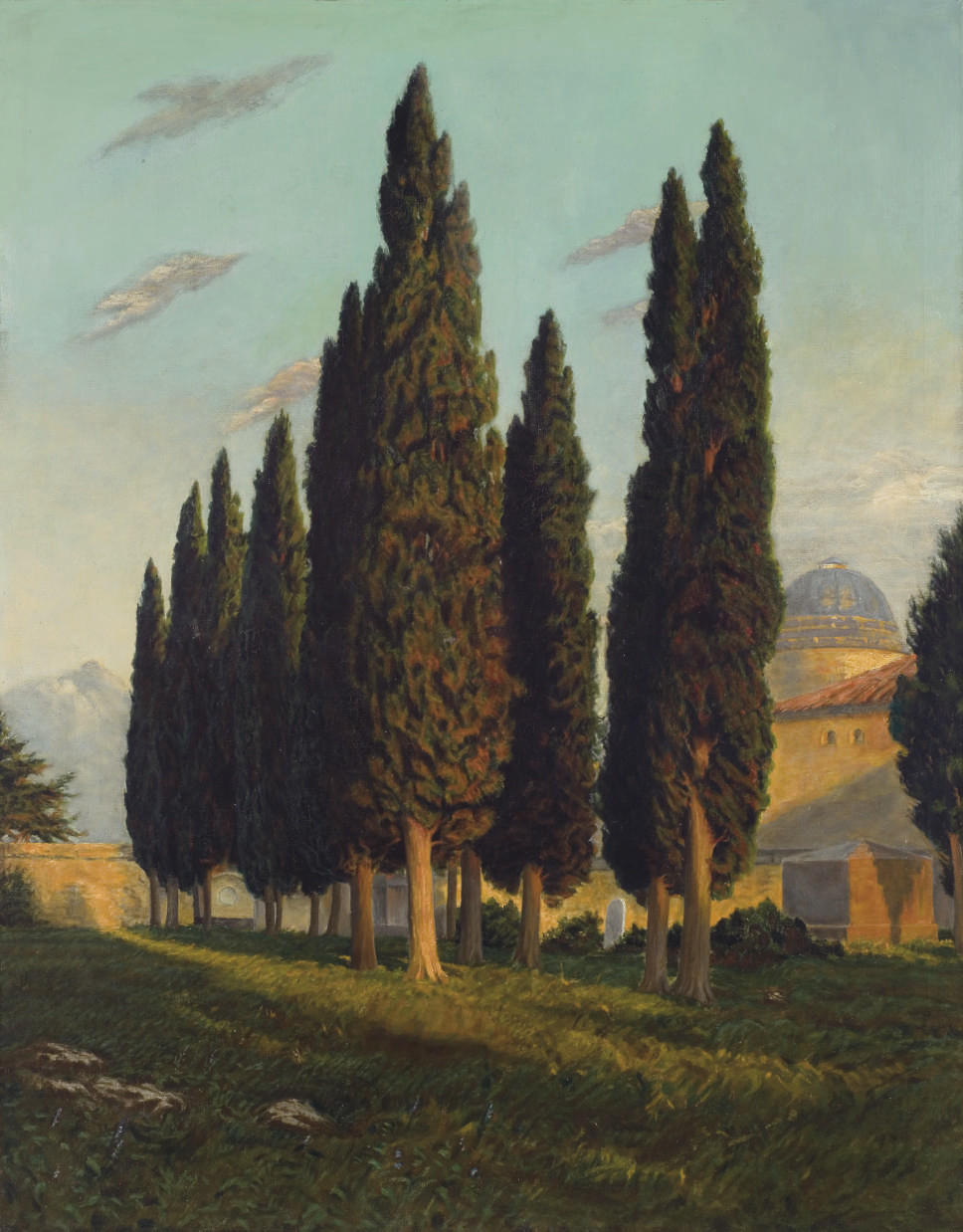 Landscape with Poplar Trees