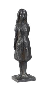 Design for Anne Frank, standing