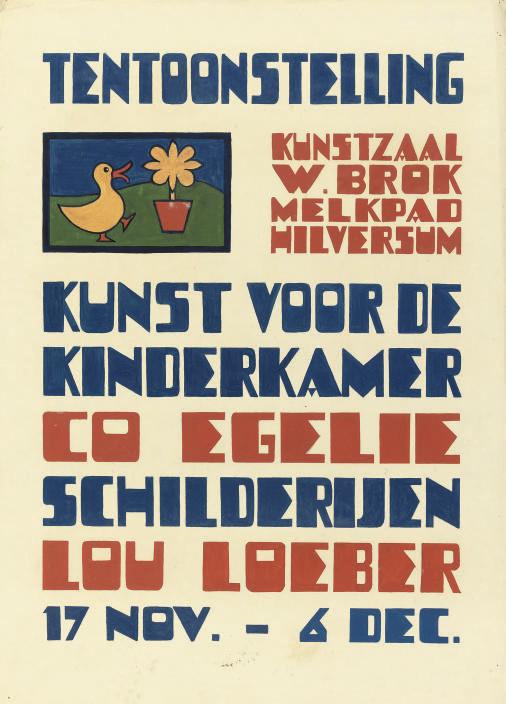 Lou Loeber (DUTCH, 1894-1983)