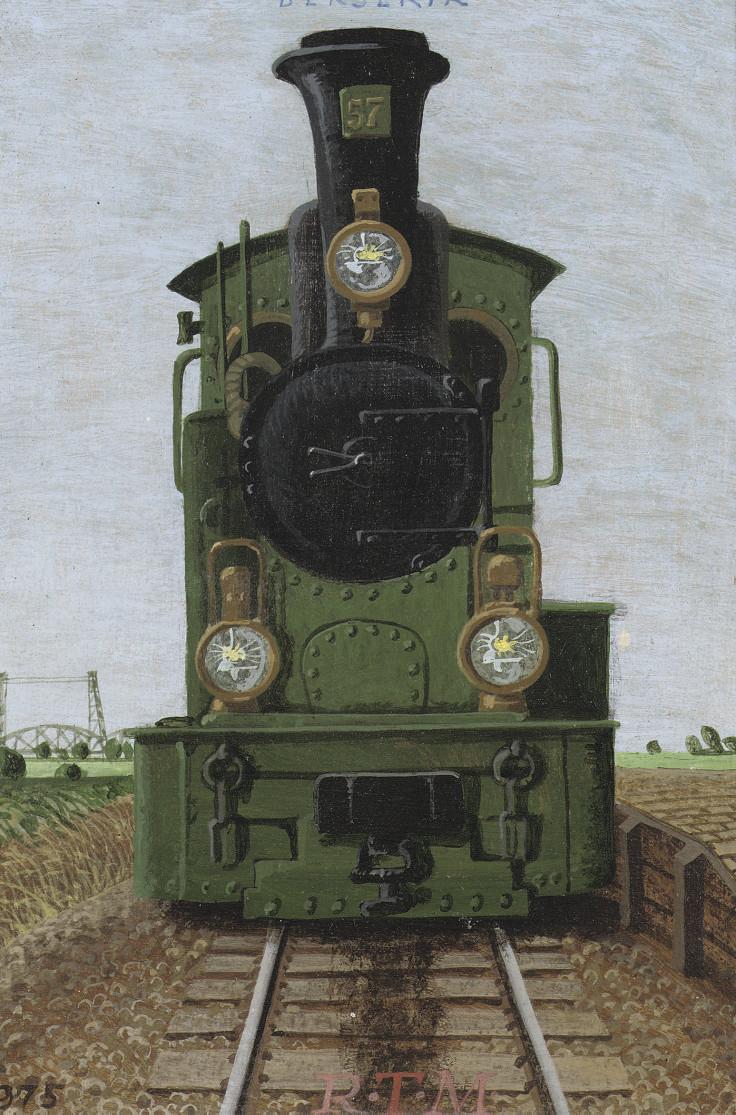 Portretje van een locomotiefje - De tram voor Spijkenisse