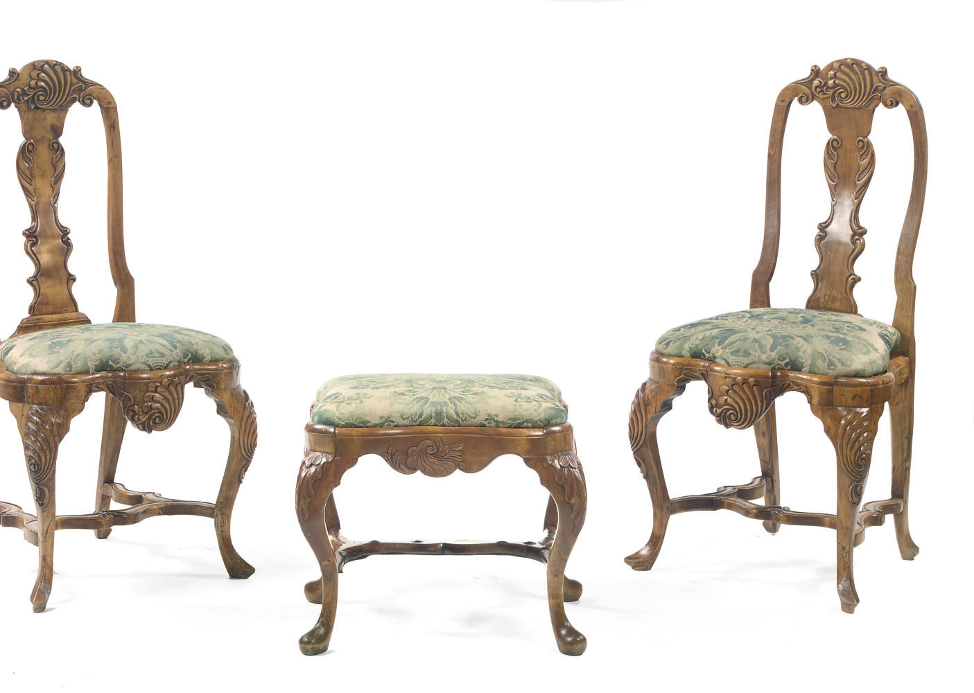 A PAIR OF DANISH ALDER SIDE CH