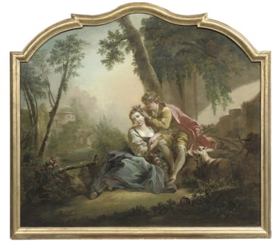 Circle of François Boucher (Pa