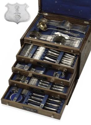 An German flatware service