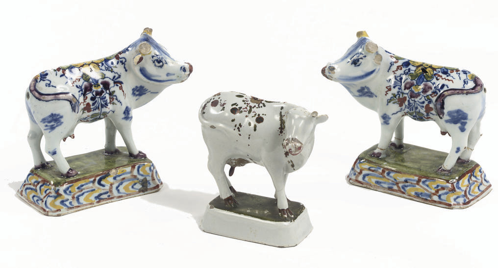 A pair and one Dutch Delft mod