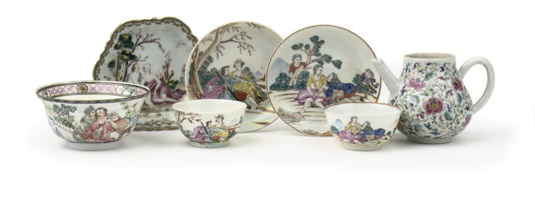 An assorted lot of Chinese 'co