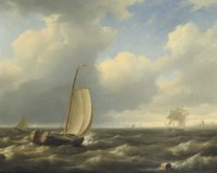 Shipping of a coast
