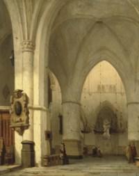 Interior of the St. Bavo, Haarlem