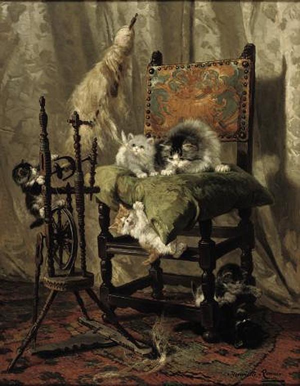 Henriette Ronner (Amsterdam 1821-1909 Elsene)