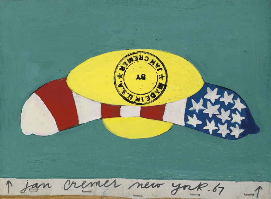 Jan Cremer (DUTCH, B. 1940)