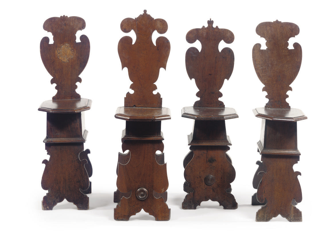 A MATCHED SET OF FOUR ITALIAN