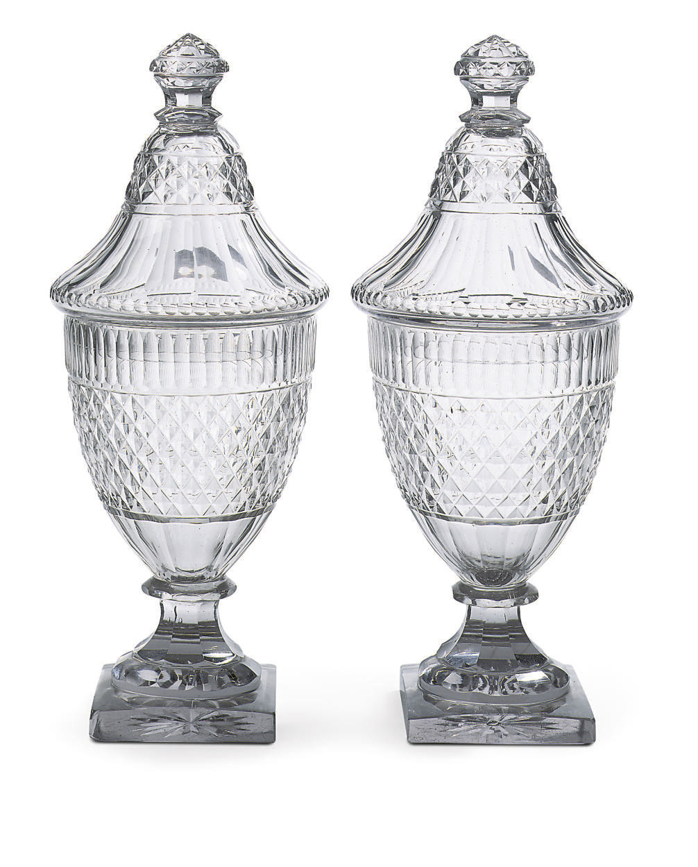 A pair of Baccarat or Voneche
