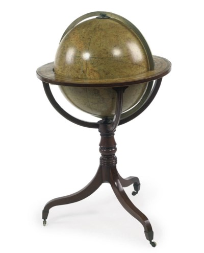 A VICTORIAN 18-INCH CELESTIAL