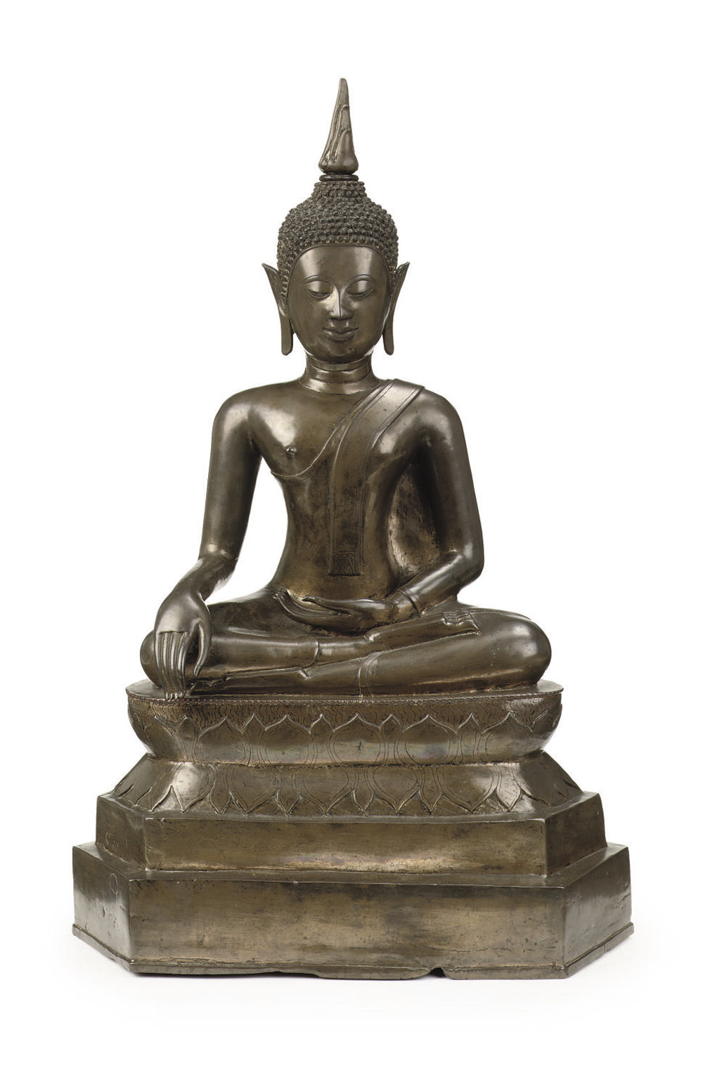 A Thai bronze Ayutthaya-style