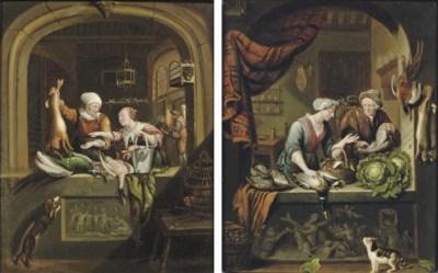 Manner of Willem van Mieris (L
