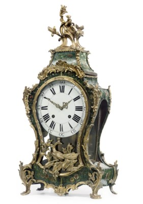 A SWISS LOUIS XV ORMOLU-MOUNTE