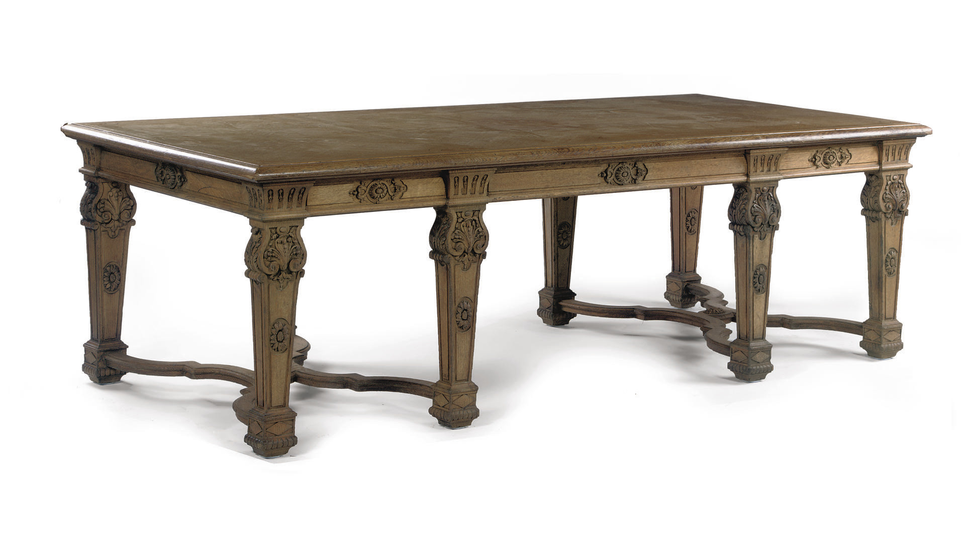 A FRENCH OAK AND FRUITWOOD CEN