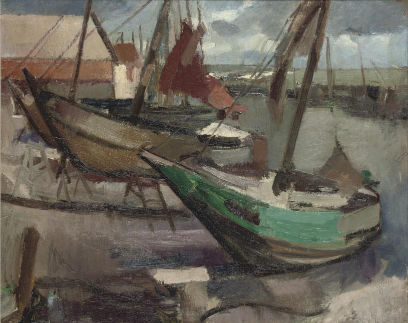The harbour of Marken