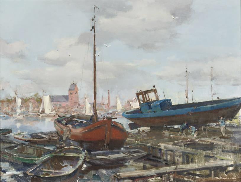 Shipyard at Grouw