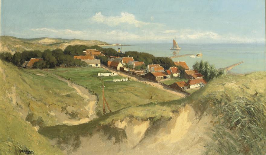 An extensive view of Vlieland