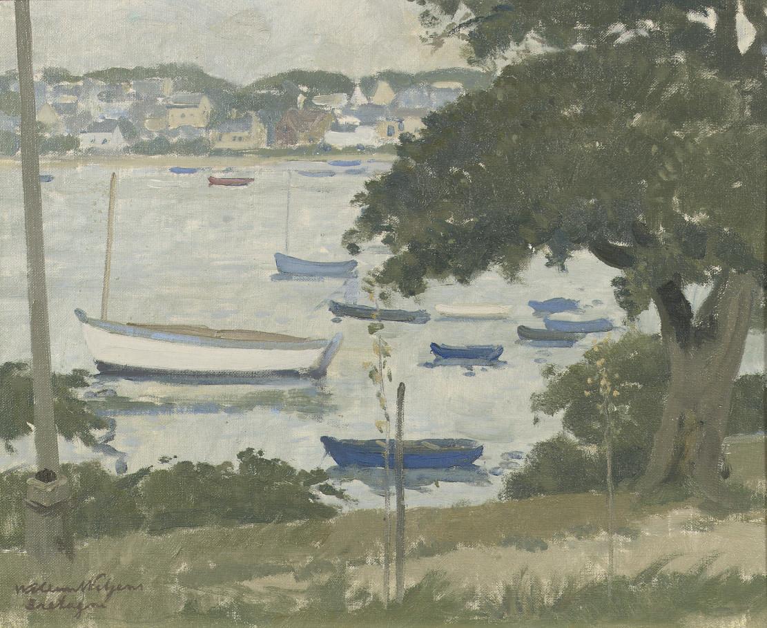 Boats on the river Odet, Bretagne