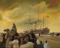 Merchants by the steamship Bentinck of P&O (Peninsular and Orietal Steam Navigation Company)