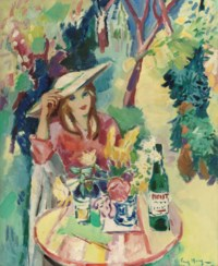 An afternoon drink in the garden
