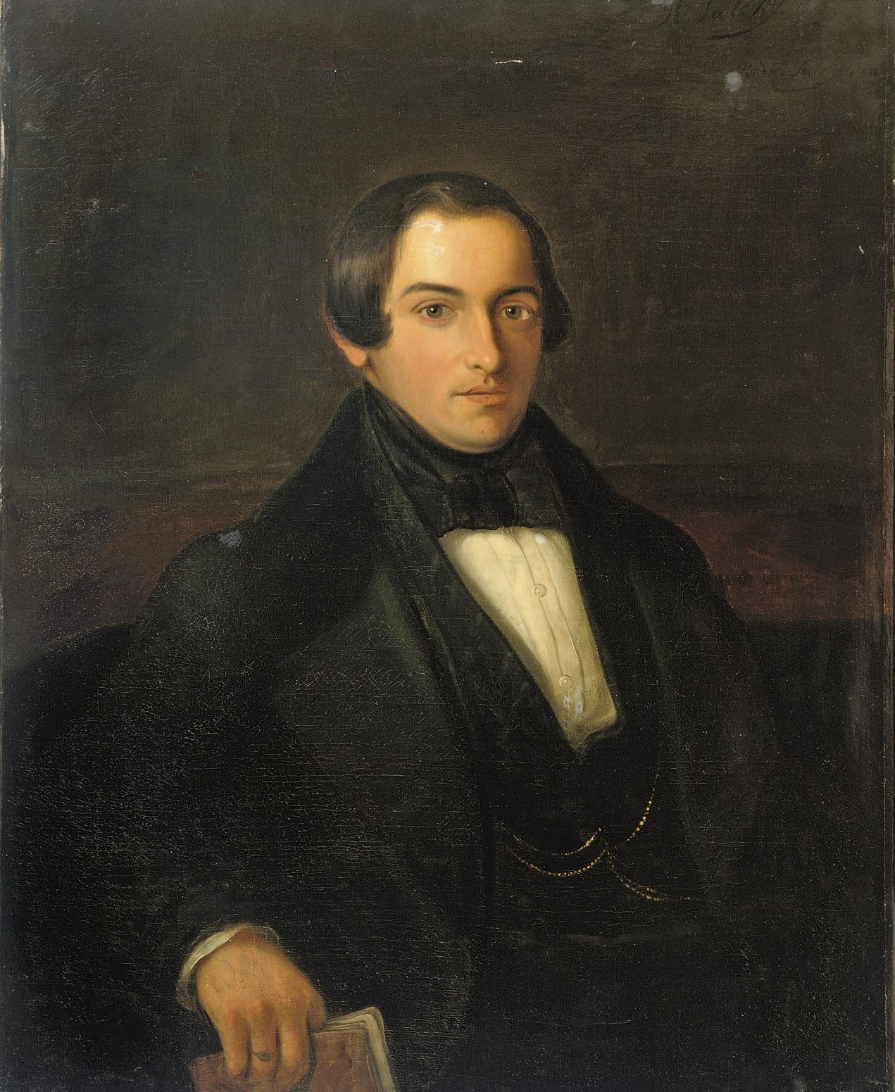 Portrait of Ary Prins (1816-1867)