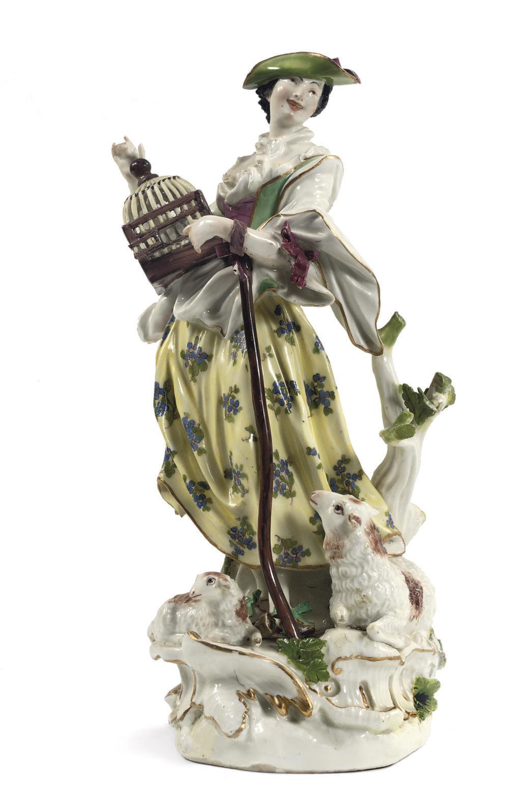 A Meissen porcelain figure of