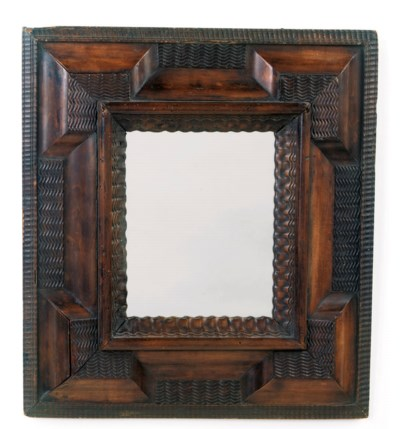 A GERMAN STAINED FRUITWOOD MIR