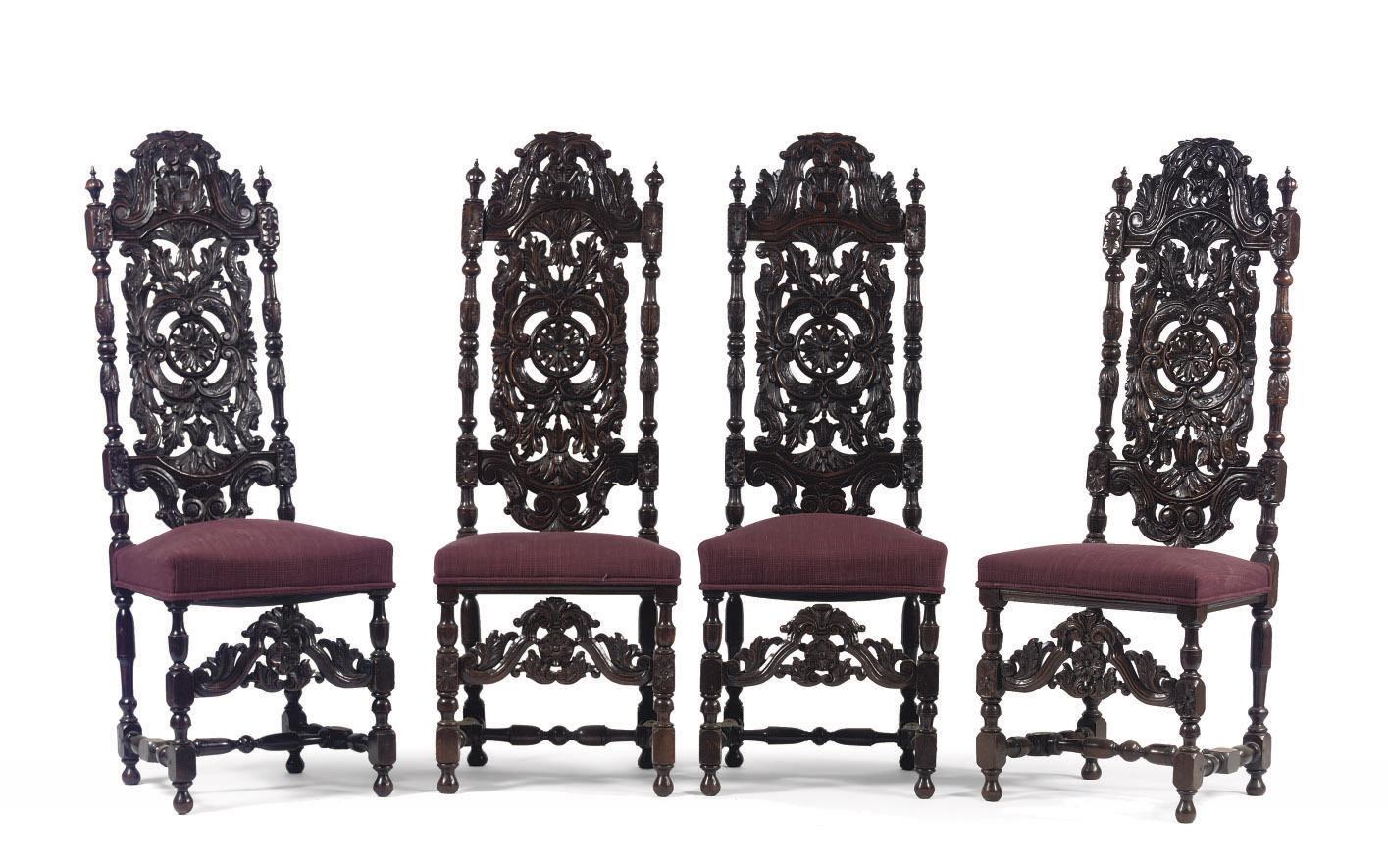 A set of four neo-renaissance