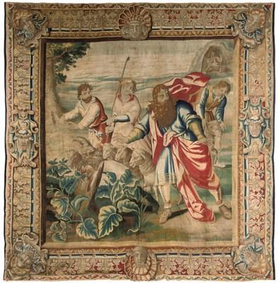 A Brussels Biblical tapestry d