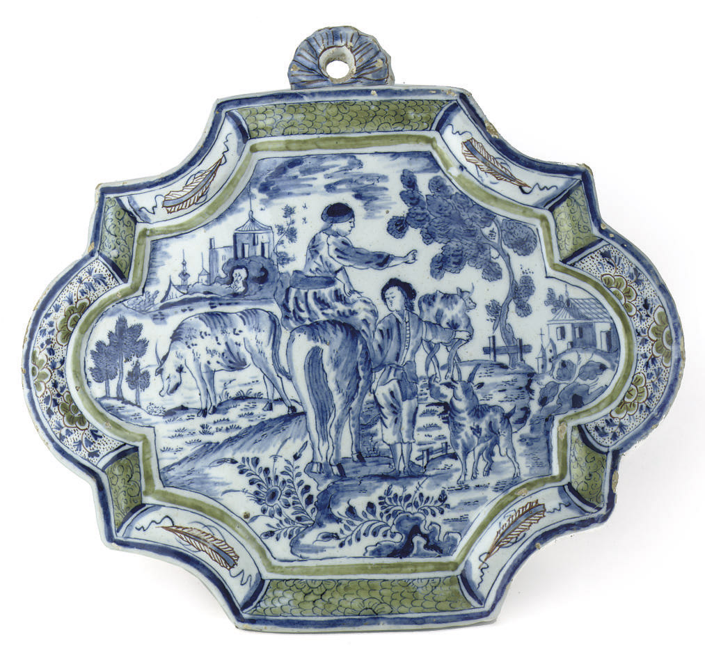 A Dutch Delft 'mixed-technique