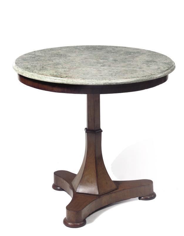 A Dutch mahogany centre table