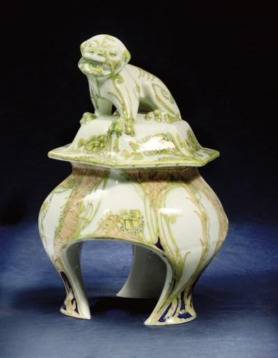 A pottery vase