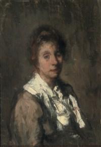 Portrait of Malvina, the artist's wife