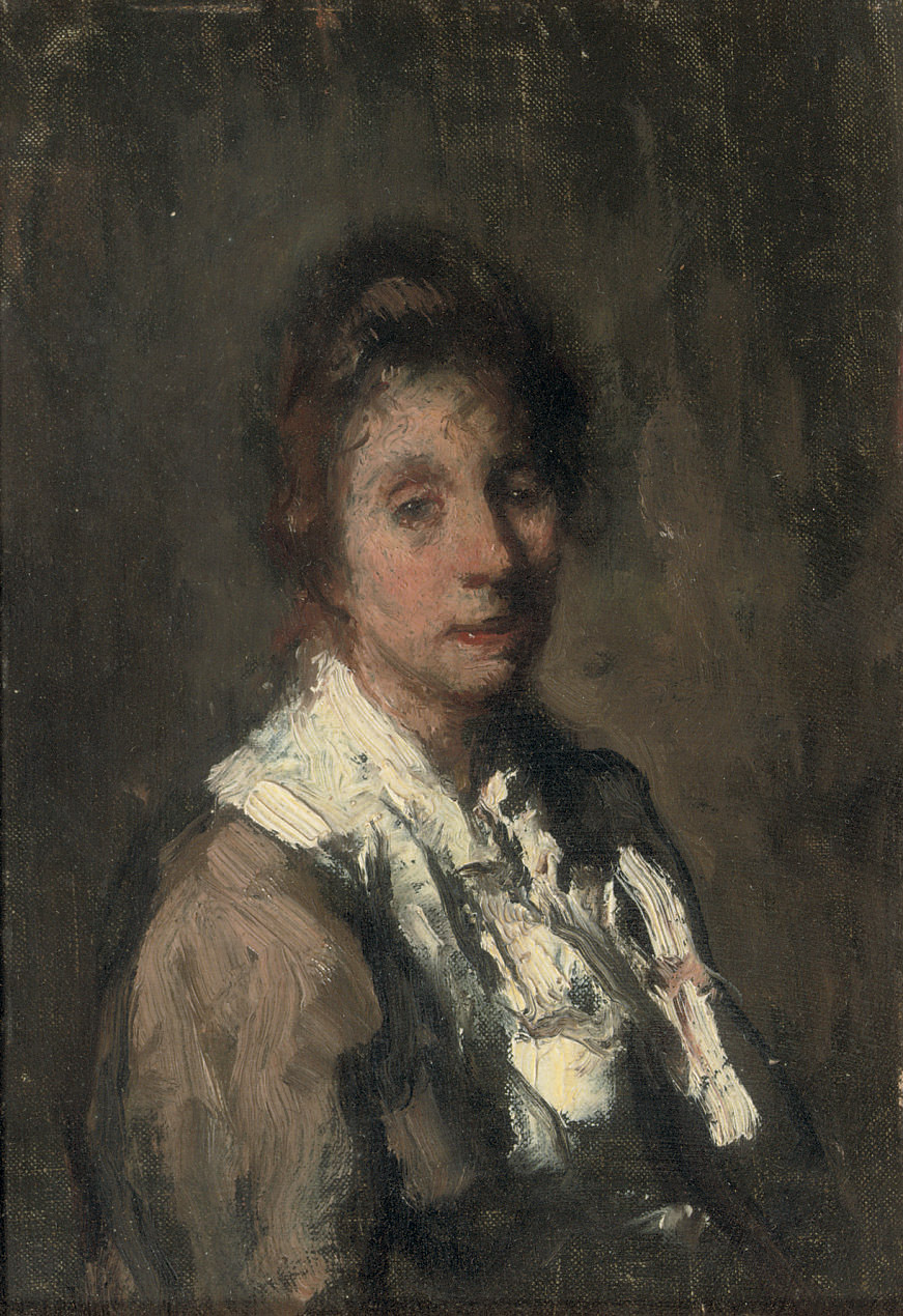 Portrait of Malvina, the artist's wife
