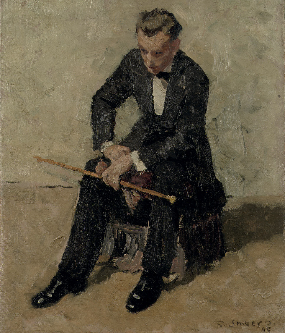 Lucien Chardon seated