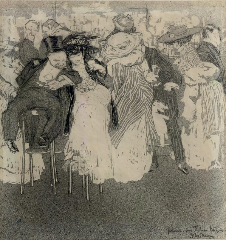At the Folies Bergère, Paris