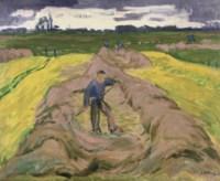 Boer in Hooiland: hay making farmers