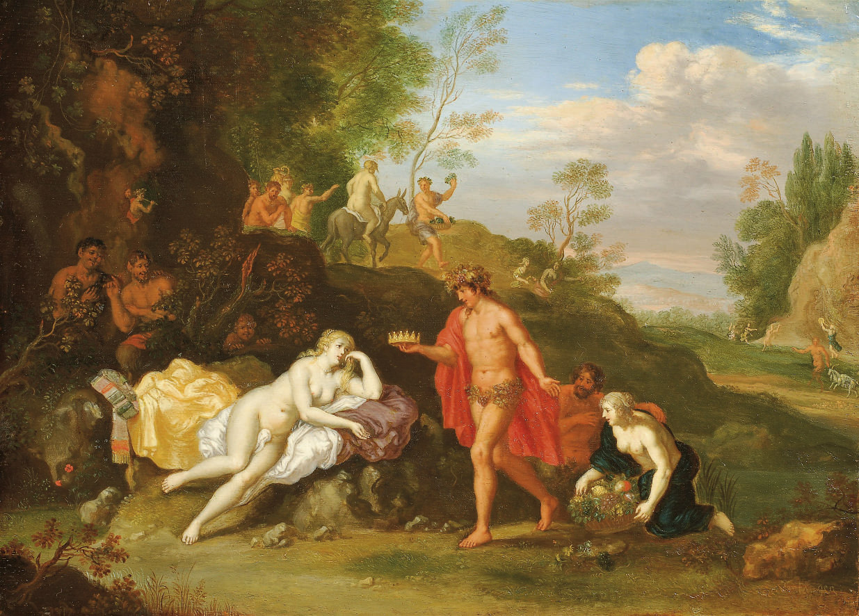 Bacchus and Ariadne
