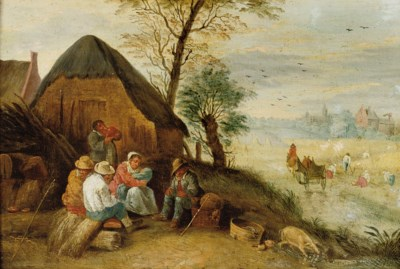Attributed to Abraham Teniers