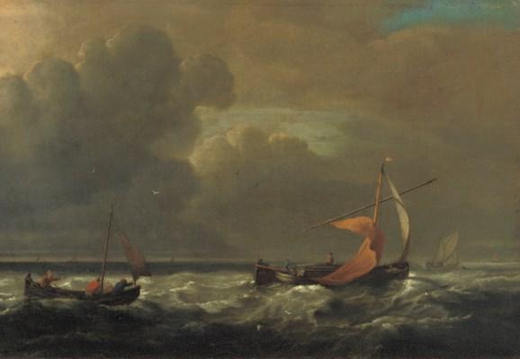 Circle of Willem van de Velde
